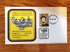 GB 1973 William Shakespeare Birthday Special Event Cover #102