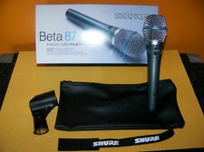 Shure Beta87A Beta 87 Beta 87A  New in Box w/ Warranty! Free 2 Day Guar Shipping