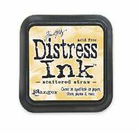 TIM HOLTZ Ranger DISTRESS Ink Pad SCATTERED STRAW Water Based Dye TIM21483