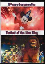 Festival of the Lion King & Fantasmic DVD Disney World