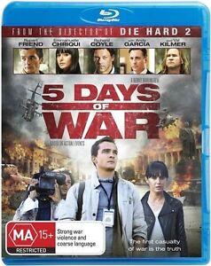 5 Days of War Blu Ray New Sealed Region B