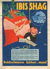 RECLAME VOOR IBIS SHAG 07 - KEES MEYS/WEEKBLAD PANORAMA 1935