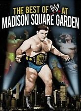 WWE - The Best Of Madison Square Garden (DVD, 2013, 3-Disc Set) - Region 4