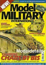 Model Military International #4, Kursk Panther, Russian 2A3 Char B1 Bis Hetzer