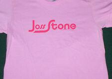 Joss Stone Name Logo Pink  Babydoll Juniors Shirt NEW M / OSFA