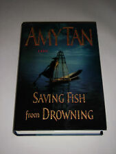 SAVING FISH FROM DROWNING BY AMY TAN REALITY VS FICTION NOVEL TOURISTS IN BURMA