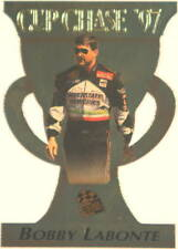 Nascar Trading Card Bobby Labonte -Gold Cup Chase 97- Diecut