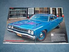 "1968 Plymouth Hemi Road Runner Survivor Article ""The Hidden Hemi"""