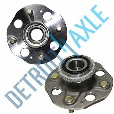 Set (2) New REAR Complete Wheel Hub and Bearing Assembly for Honda Accord w/ABS