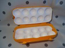 Tupperware Egg Keeper Carton Yellow New