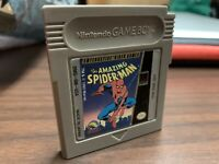 Marvel The Amazing Spider-Man Nintendo Game Boy Authentic Tested Cleaned