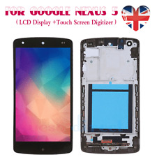 For LG Nexus 5 D820 D821 Screen Replacement LCD Touch Digitizer+Frame Black