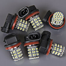 6x Super Bright White H11 64-SMD LED Fog Day Driving Running Light Lamp Daytime