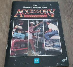 1980's General Motors Passenger Cars & Truck Accessories Parts Catalog book OEM