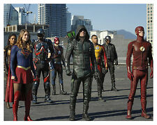 "ARROW/FLASH/-DC-LEGENDS OF TOMORROW/SUPERGIRL-""cast"" Glossy 8x10 Photo -a-"