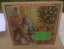 New Factory Sealed LP We Wish You A Merry Christmas RCA Various Artists PRS-314