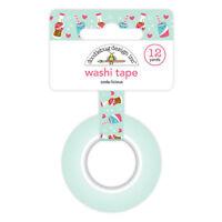 Doodlebug Washi Tape 15mm X 12yd Seaside 842715049949