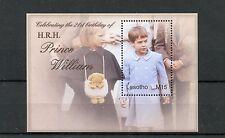 Lesotho 2004 MNH Prince William 21st Birthday 1v S/S Royalty