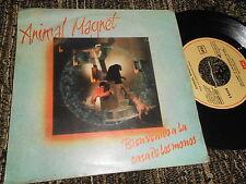 """ANIMAL MAGNET Bienvenido a la casa de los monos/Game over 7"""" 1981 SPAIN SPANISH"""