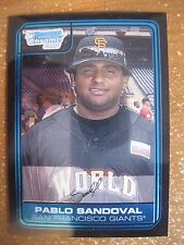 PABLO SANDOVAL 2006 BOWMAN CHROME DRAFT FUTURES GAME PROSPECT RC #FG6 ROOKIE