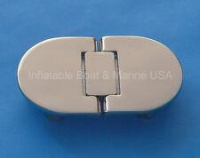 "Boat Door Hatch Hinge-Hidden/ Concealed Fastener 3-7/8"" Marine Stainless Steel"