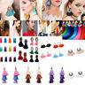 Women Vintage Boho Earrings Long Tassel Fringe Dangle Drop Earrings Bohemian New