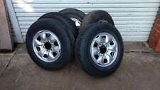 1x TOYOTA HILUX  6 STUD STEEL FACTORY WHEEL 16 x 6 RIM & CHOICE OF 16 INCH TYRES