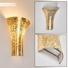 Applique dorée Lampe de chambre à coucher Lampe murale Spot Lampe de corridor
