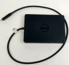 New listing Dell Wd15 Usb Type-C Laptop Docking Station Tested Working -No Power Adapter-
