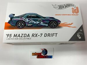 NEW!  '95 Mazda RX-7 Drift * 2021 Hot Wheels id Car Case D