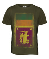 SRI LANKA FADED FLAG MENS T-SHIRT TEE TOP SRI LANK? FOOTBALL LANKAN GIFT SHIRT