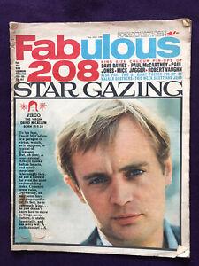 FABULOUS 208 magazine 23rd Jul 1966 Pop Music Beatles Kinks Rolling Stones etc