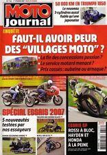 MOTO JOURNAL 1746 TRIUMPH 865 Bonneville Black 1050 Sprint ST DUCATI Sport 1000
