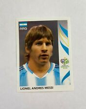 2006 Panini World Cup 2006 Sticker #185 Lionel Messi Rookie RC Argentina lot I