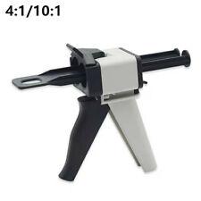 2pieces Dental Impression 41 101 Ratio Mixing Dispenser Dispensing Gun 50ml