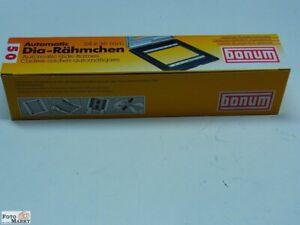 Bonum Automatic Diarahmen 24x36mm mit Zahnschienen DIA Rahmen (neu)