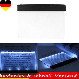 Kreative LED Buch Licht Leselampe Nacht Flache Platten Auto Spielraum Panel Lamp