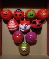 More details for red nose day 2021 comic relief complete set with rare gold tommy & boxes - new