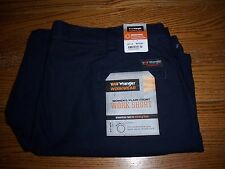 WOMEN'S WRANGLER WORKWEAR PLAIN FRONT NAVY BLUE WORK SHORTS 20 X 9 NEW WITH TAGS