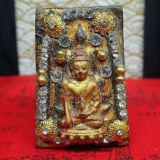 THAI BUDDHA AMULET PHRA LP SOUNG  B.E 2519 RARE 500 YRS OLD MONK