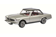 MERCEDES 280 SL CABRIO SILVER LIMITED EDITION 2000PCS 1/18 BY SCHUCO 450035000