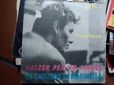 """7"""" SOLO RARA COPERTINA FABRIZIO DE ANDRE' LA CANZONE DI MARINELLA KARIM VG+/EX"""