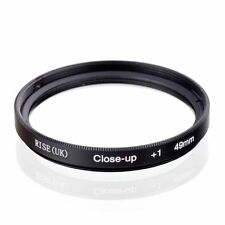 49mm +1 High Definition Close Up Macro Lens Sony Canon Nikon DSLR + FREE Pouch