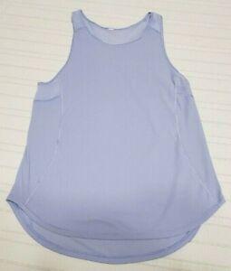Lululemon Workout Running Shirt sleeveless tank Top  Size 4
