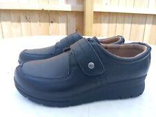 Cobbie Cuddlers Cecile Black Leather Shoe Strap Women's Size 7 W