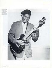 Chuck Berry Magazine Photo #4072