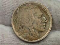 Key Date VF 1919-d Buffalo Nickel - 2/3 Horn.  #6