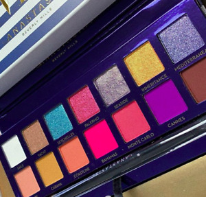 100% Authentic Anastasia Beverly Hills Riviera Eye Shadow Palette New In Box