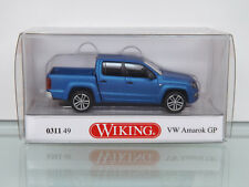 WIKING 031149 - H0 1:87 - VW AMAROK GP highline-ravennablau métallique mat -