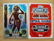 Star Wars Force Attax Serie 3, LE5 Ahsoka Tano, limitierte Auflage!